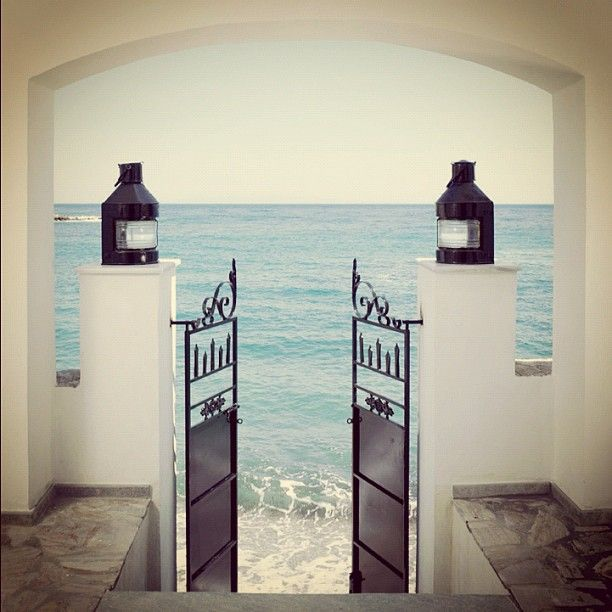 entrance to heaven !!! Chios Greece