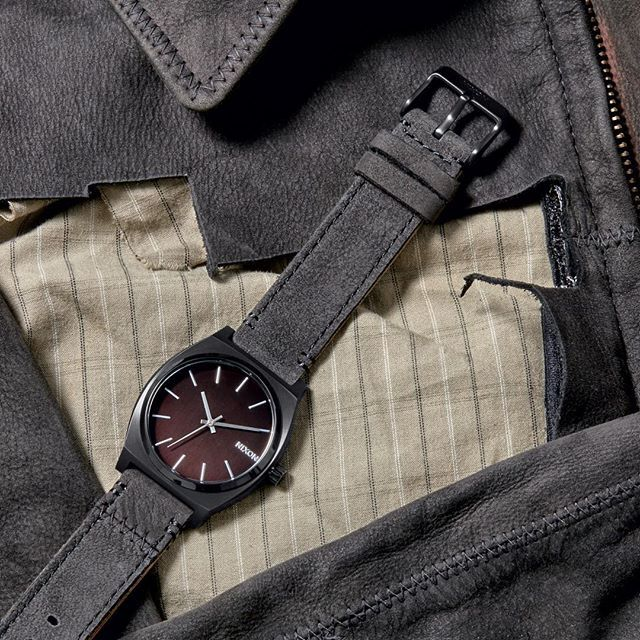 Own a piece of skateboarding history: the @tonyhawk Limited Edition Time Teller watch, made from Tony's donated jacket and benefiting @musicares MAP Fund. Available at @nixon_london & @nixon_paris stores in Europe along with other exclusive timepieces made from donated leather jackets, pants and guitar straps from some of music's bests and brightests like @slash, @macklemore, Chris Martin (@coldplay) or @brandensteineckert.
