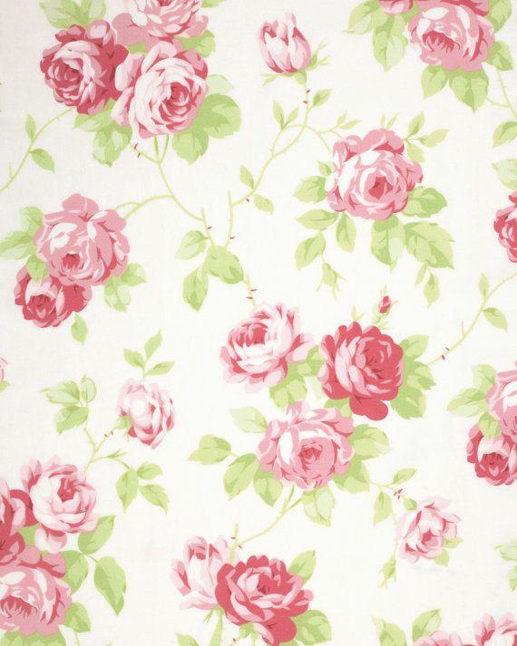 TANYA WHELAN Lulu Roses Collection 1 Yard by BellatiqueFabrics
