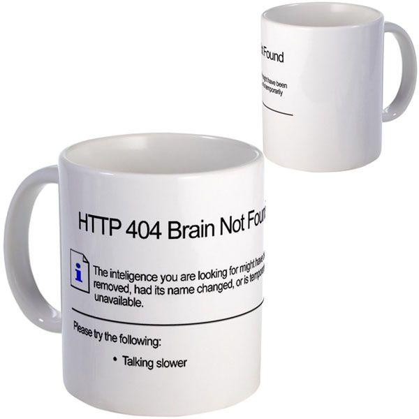 #Geek #404 #Error #Mug