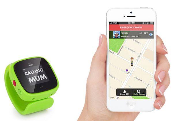 Reloj PiLIP. Un geolocalizador para niños. Este dispositivo móvil con forma de reloj digital de pulsera cuenta con WiFi, GSM y GPS permitiendo que padres e hijos estén comunicados de forma segura. http://www.decopeques.com/