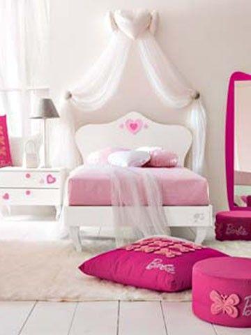 Composiciones para cuarto de niña Barbie Eros. Muebles de servicio, camas, armarios. #dormitorio para #niñas de #Barbie - Doimo Cityline Encuentralo en Pasión D Casa Costa Rica https://www.facebook.com/pasionDcasa