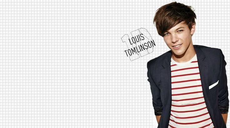 1D Louis Tomlinson HD Wallpaper