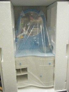American Doll Bathroom Furniture Details About My Blue Vanity Set