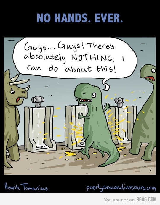 Another things T-rex can't do.....  hahaha poor t-rex