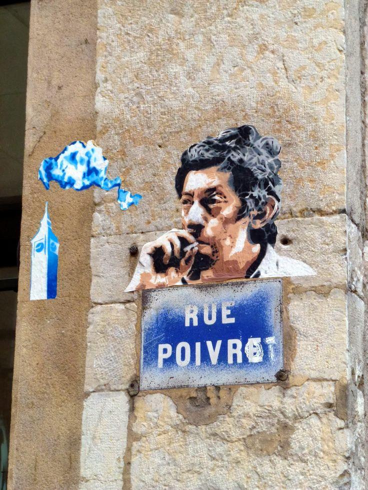 Big Ben - Gainsbourg au pied de la Croix Rousse, Lyon