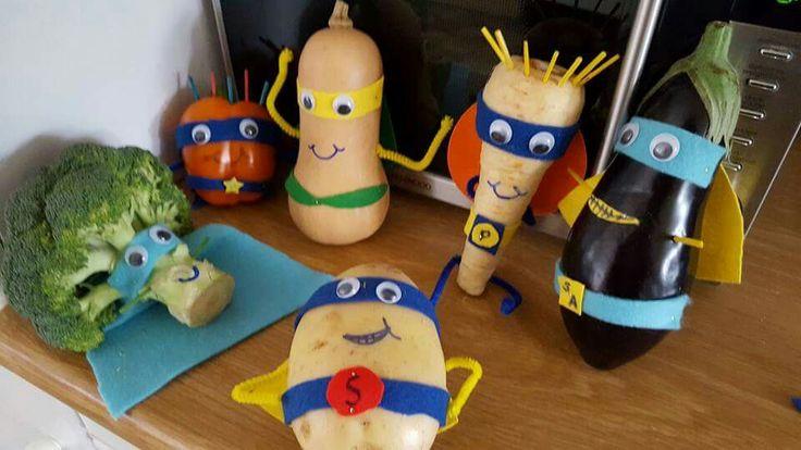 Super Veggies Assemble