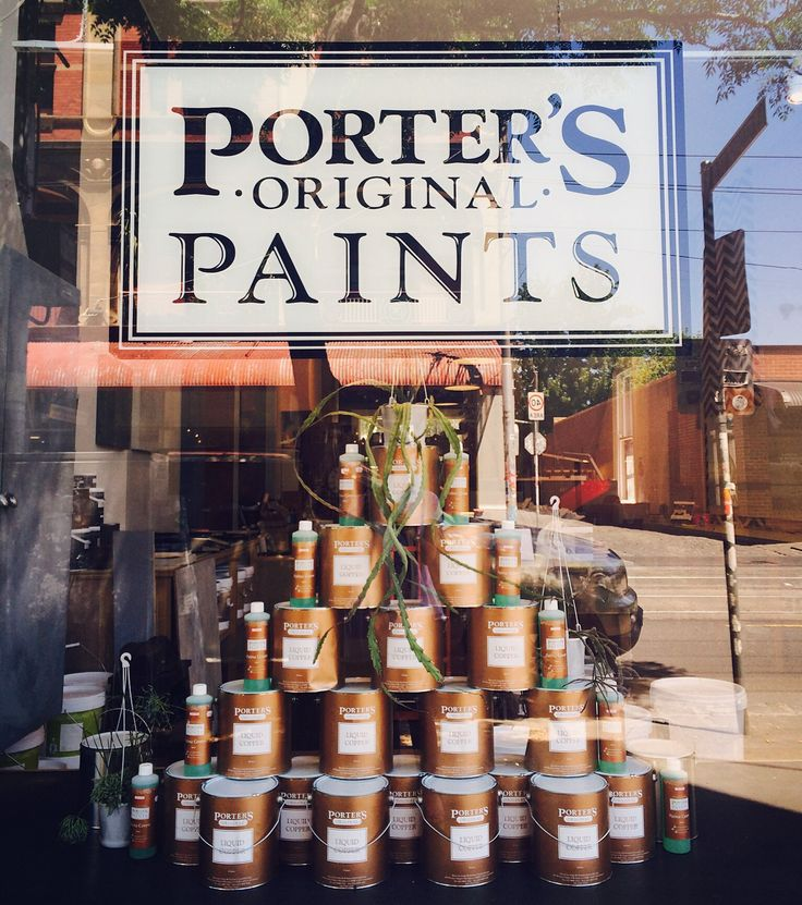 Making our lists and checking them twice! Pop into your local Porter's Paints shop or distributor for inspiration! Christmas tree comes compliments from our clever cats at Porter's Paints Fitzroy