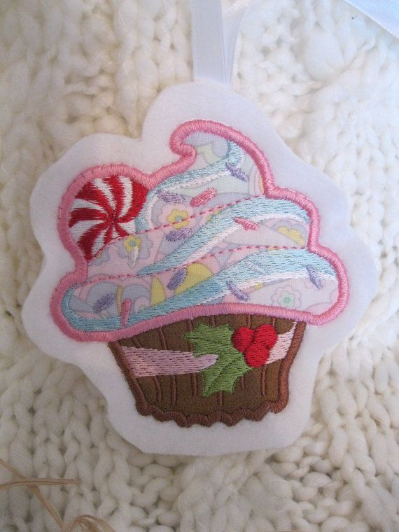 CLEARANCE Sale on Cute as a Cupcake' applique by BrambleWoodANDivy