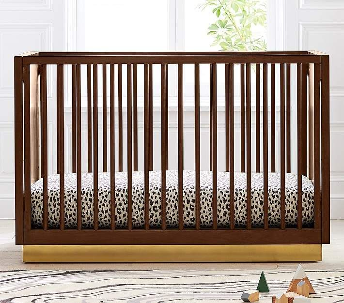Acacia Convertible Crib Cribs Convertible Crib Modern Crib