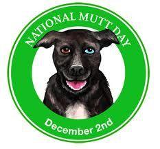 Dec 2 - National Mutt Day