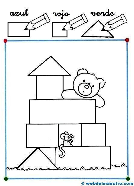 1000 ideas about figuras geometricas para ni os on for Actividades con cartulina para ninos