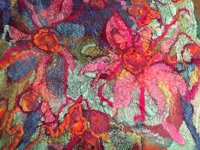 Studio 907: No Roll - Dryer Method, felting without rolling using the dryer