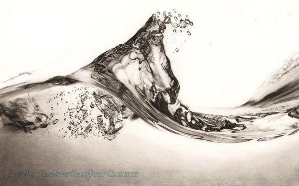 Living Water by AmBr0.deviantart.com on @deviantART