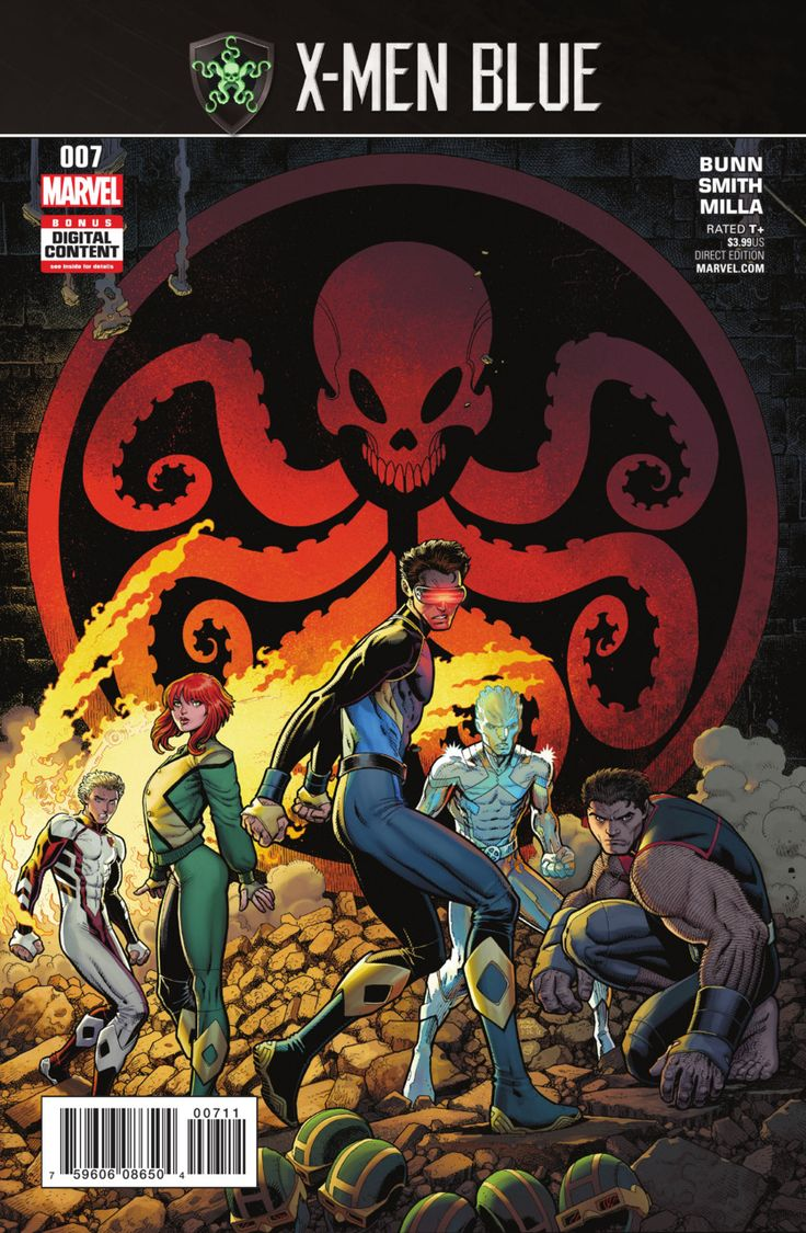 X-Men: Blue #7 (Issue)