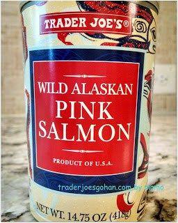 Trader Joe's Wild Alaskan Pink Salmon 14.75oz/418g $3.29 トレーダジョーズのサーモンの缶詰