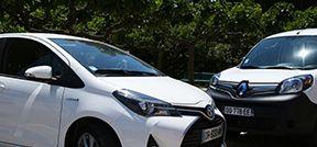 L'Université de Toulon acquiert deux véhicules écologiques