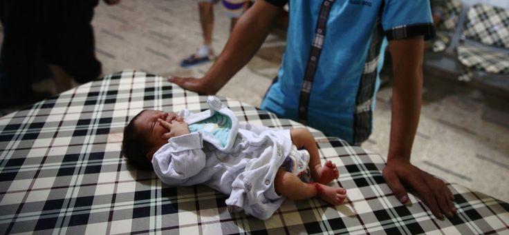 Syrie : Un nouveau-né meurt dans des bombardements d'hôpitaux