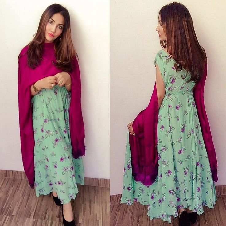 How I took my dress to an another level just by draping a dupatta #mintgreen  #favdress #summerhair