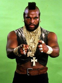 I got Mr. T! Which '80s Pop Culture Icon Are You?