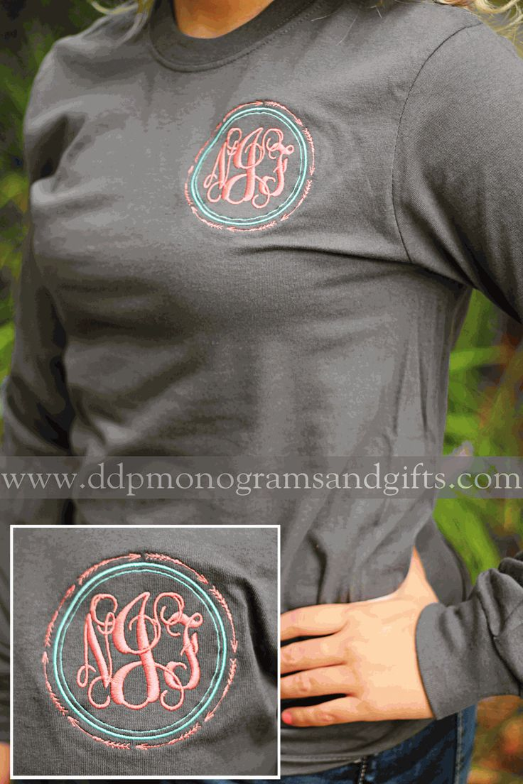 MONOGRAMMED INFINITE ARROW LONG SLEEVE SHIRT
