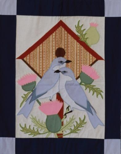 Best 98 Quilts Bird Houses ideas on Pinterest