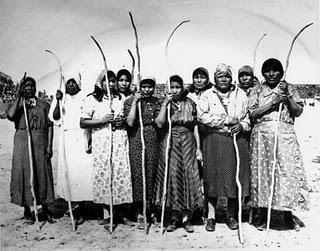 Pima women