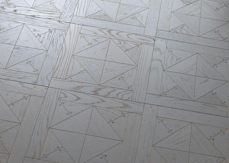 BERTI PARQUET - Diesel Living with Berti Stud Tiles