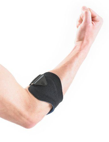 UK Golf Gear - NEO G Tennis/Golf Elbow Clasp - Medical Grade Quality HELPS with epicondylitis, Tennis/Golfers elbow, sprains & repetitive strain injuries, reduces tendon irritation & overuse - ONE SIZE Unisex Brace