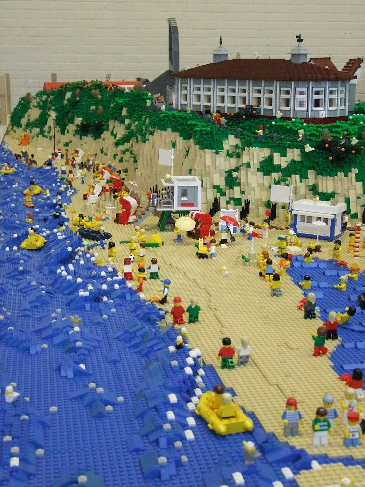 Lego-Langeoog – Update 2010: A LEGO® creation by Andreas Boeker : MOCpages.com