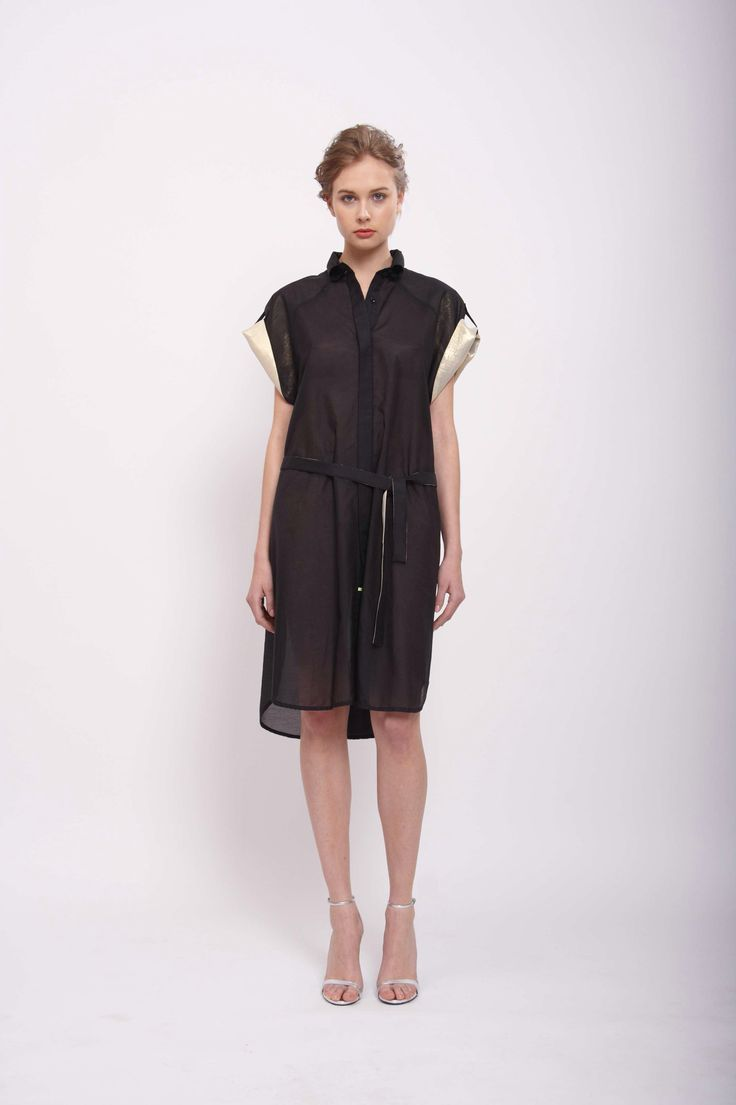 SHIRT DRESS, LEEDA