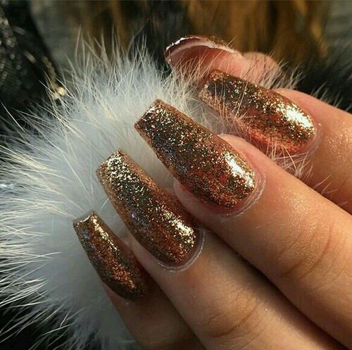 best 25 gold acrylic nails ideas on pinterest sparkly