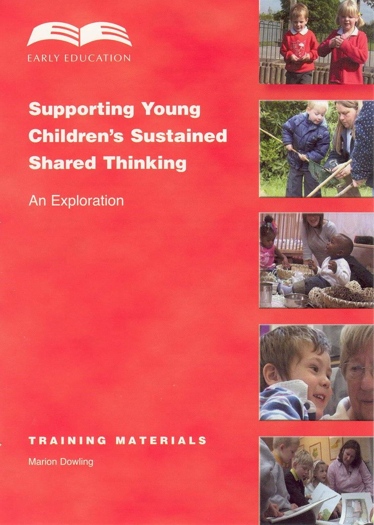 Supporting young children's sustained shared thinking | Early Education - an excellent resource package to support and improve practitioners' interactions with children.