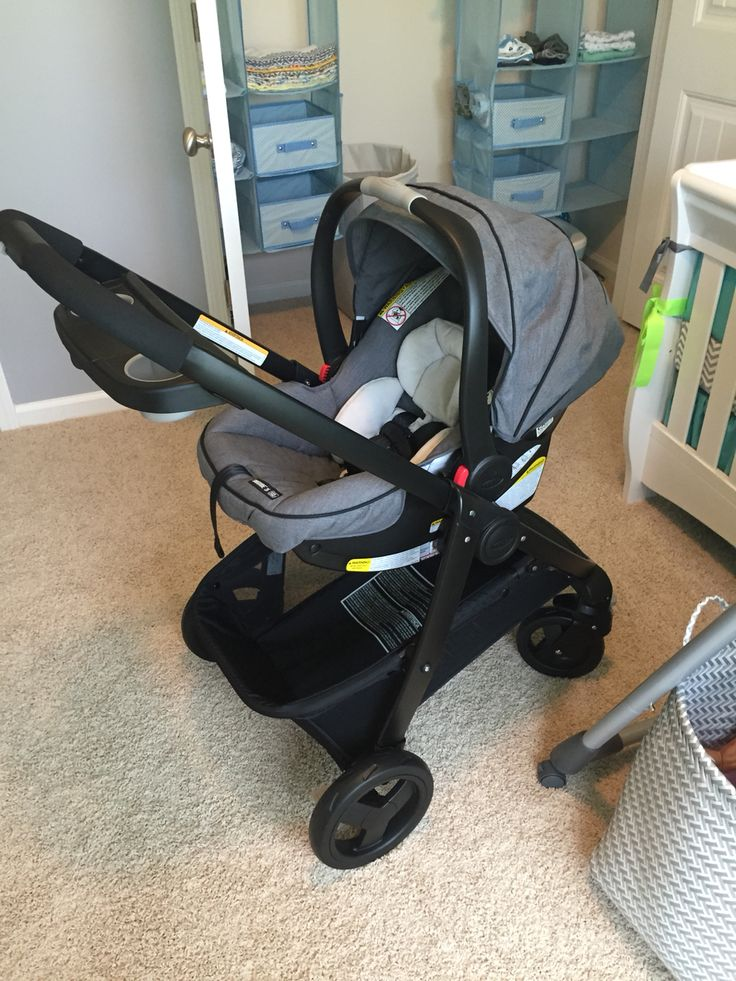 Graco Modes Click Connect Travel System Stroller Car