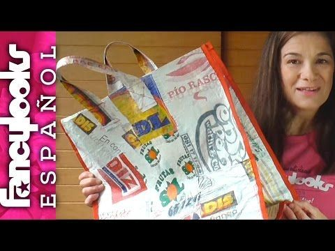 Reciclar bolsas de plástico - YouTube