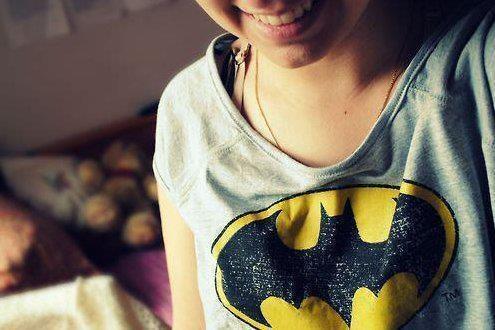 Batman tee.