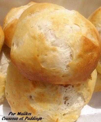 petit pain au yaourt et fromage blanc