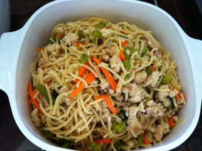 The Right to Be Alive: The Rice Pot Fried Spaghetti. Carrots optional - moderate Salicylates