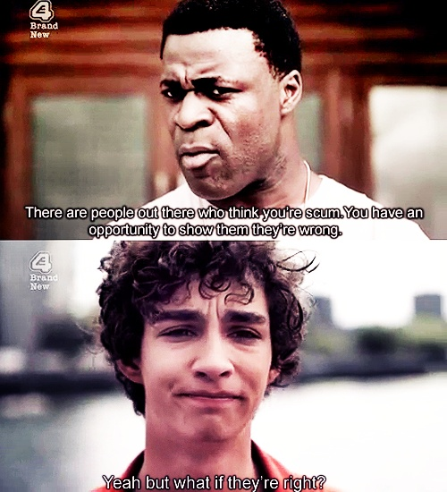 And from that moment on Nathan was my favourite character - Misfits