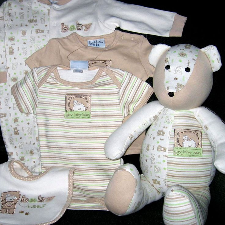 Idea: Recycle baby clothes into a teddy | Sewing - Patterns ...