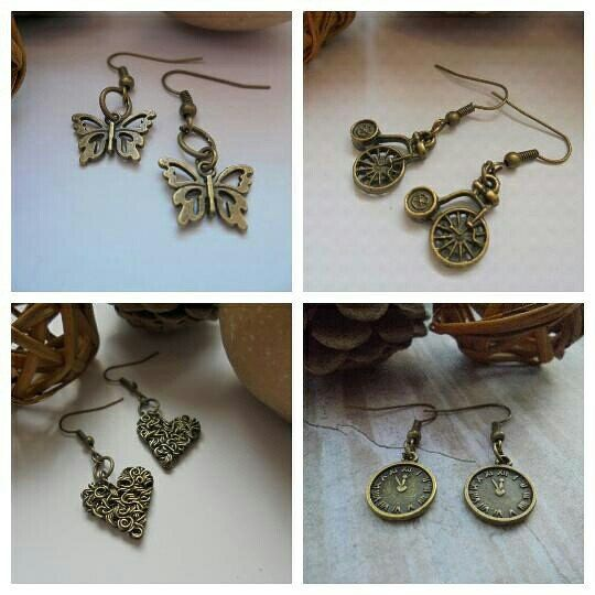 Buy one get one free on vintage charm earrings coming up this afternoon.