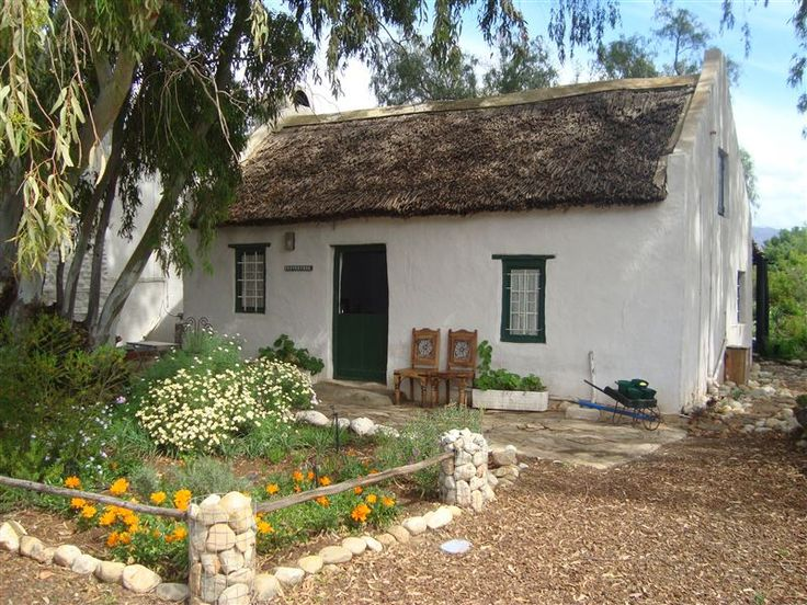 Pepper Tree Cottage - Pepper Tree was a humble worker's cottage built during the late 1880s as part of a larger farm in the Breede River Valley.  100 years later, the South African Heritage Resource Agency declared the cottage ... #weekendgetaways #mcgregor #southafrica
