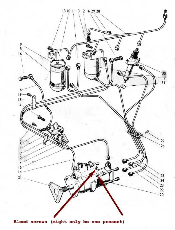 Cav Injector Pump Parts Diagram  With Images