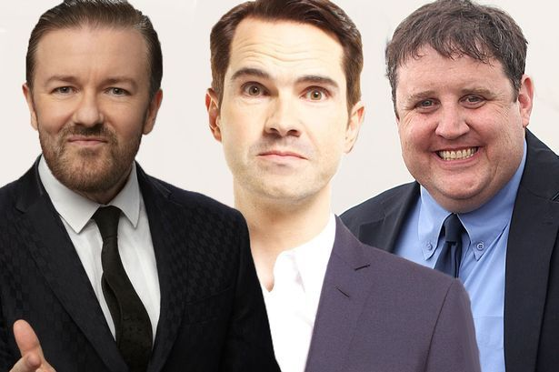 Peter Kay and Ricky Gervais top list of highest earning comedians - but where are all the women?