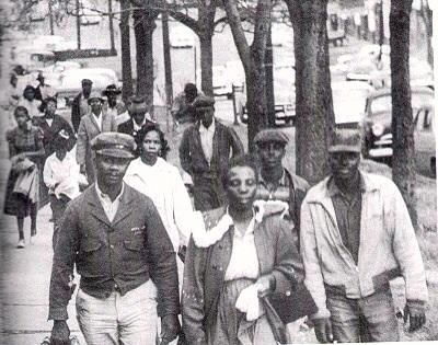It took 40,000 Black people walking to work for 381 days in Montgomery bus boycott and Rosa Parks to make history.
