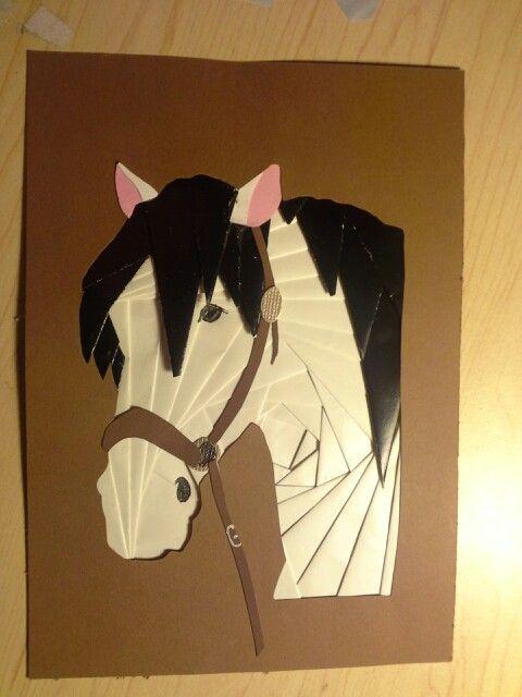 Iris folded horse                                                                                                                                                     More                                                                                                                                                                                 More