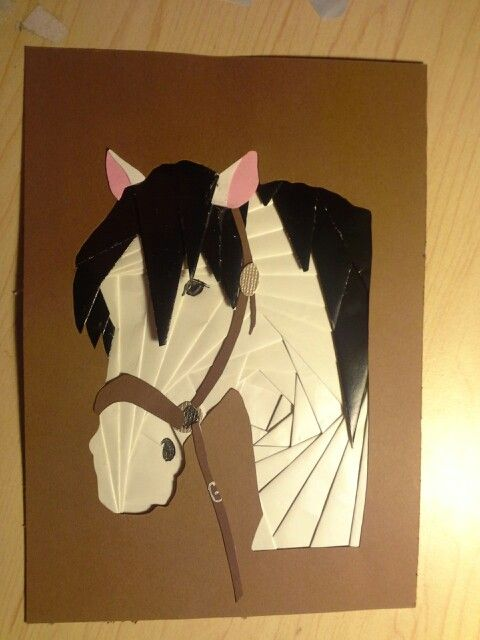 Iris folded horse                                                                                                                                                     More