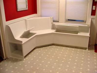 Fabric Benches For Kitchen Tables
