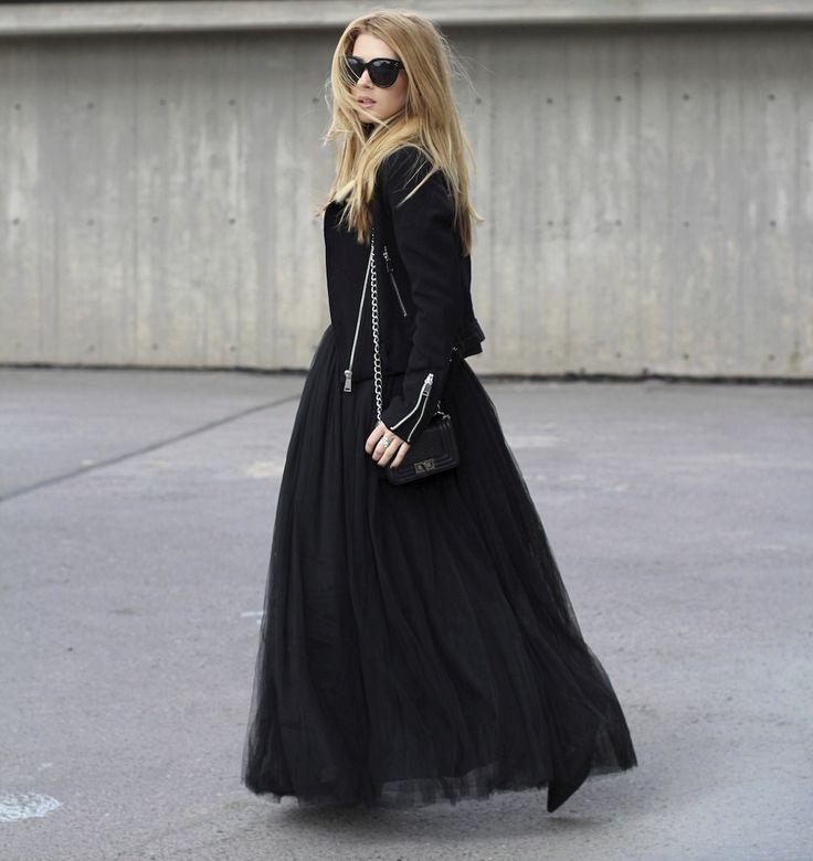 I think in black… « #CzechChicks
