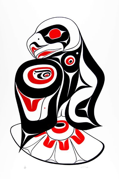 Haida Eagle Dancer-lg ed Inuit AntiquesMore Pins Like This At FOSTERGINGER @ Pinterest